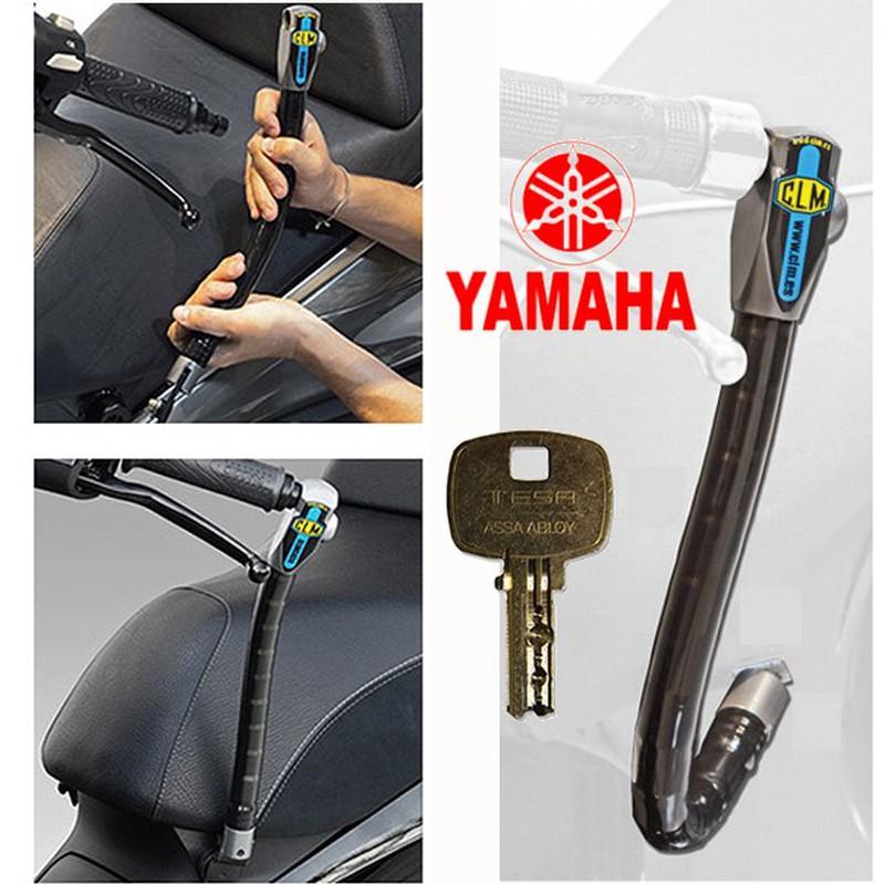 CLM Antirrobo de Manillar Blindado con Soporte Fix para Yamaha Xenter