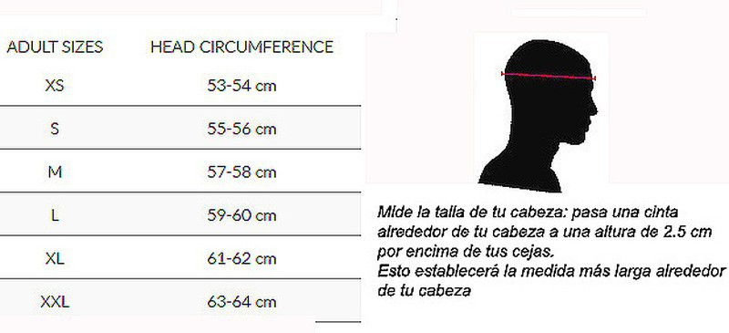 CASCO UNIK CJ 16 ROSA FLUOR MATE
